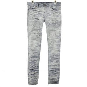ALMOST FAMOUS Skinny Jeans Low Rise Acid Wash